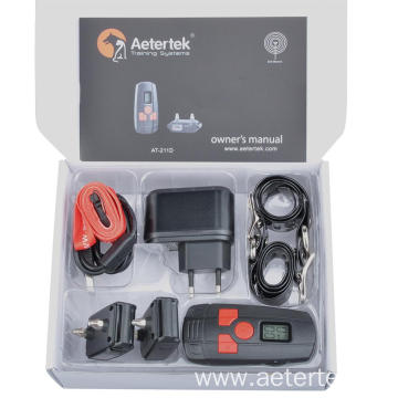 Aetertek AT-211D Small Dog Shock Collar 2 receivers